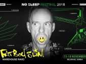 Fatboy Slim Announced an Exclusive Warehouse Rave at No Sleep Festival in Belgrade