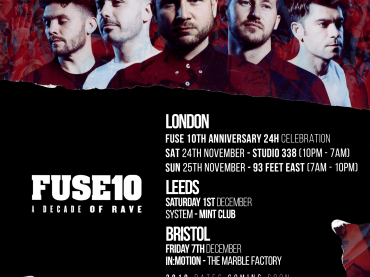 FUSE London kick off their tenth birthday celebrations with 24-hours of rave in London