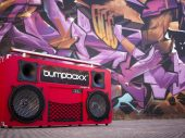 The biggest and loudest retro style boom box has arrived in Europe