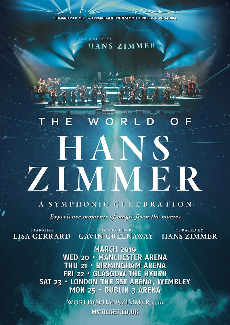 hans zimmer announces 39 the world of hans zimmer 39 uk tour