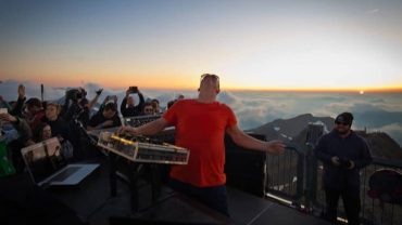 Cercle presents Stephan Bodzin at Schilthorn Piz Gloria
