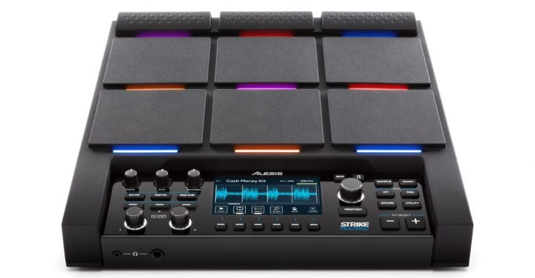 Alesis introduces Strike Pad, completely changing the world of electronic percussion pads