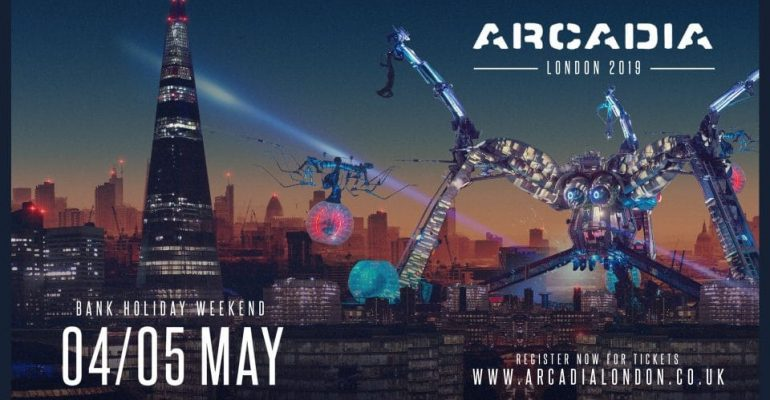 Arcadia London reveal the first acts for 2019 Weekender with Jamie Jones, DJ EZ, Sasha, Lethal Bizzle, Hot Since 82, Alan Fitzpatrick, Sub Focus and Flava D