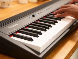 Roland have introduced an 88-note version of the GO:PIANO for those who want a full-size keyboard
