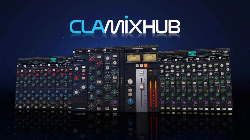 Waves' CLA MixHub plugin could change the way you mix in your DAW