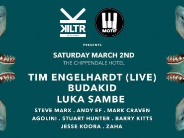 Win a double pass to Motif vs Kiltr with Tim Engelhardt, Budakid and Luka Sambe