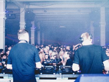 The unspoken chemistry of Sasha & Digweed at Warehouse Elementenstraat in Amsterdam