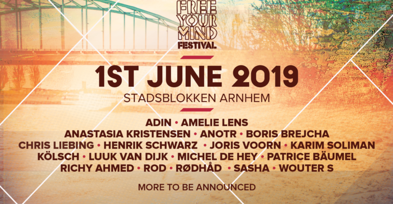 Free Your Mind Festival announces the full line-up for 2019 edition