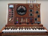 Pj Tardiveau has taken Waldorf's string synth module, the Streichfett, and given it a thorough Steampunking