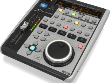 Behringer has announced the launch of a new member to its DAW controller family, the X-Touch One