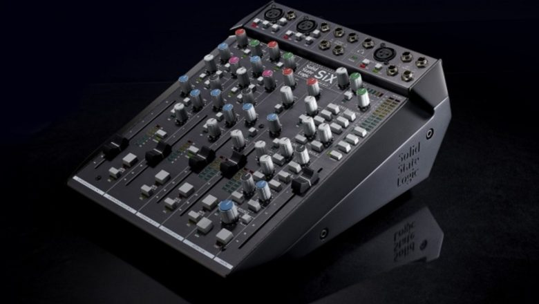 SSL has released the SiX, the 'Ultimate Desktop Mixer'