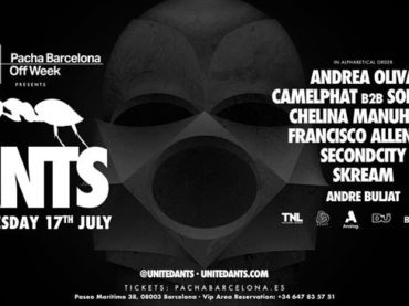 ANTS announces Pacha showcase in Barcelona for OFF Week