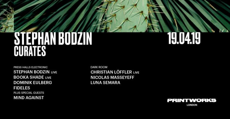 Stephan Bodzin curates at Printworks London on Good Friday