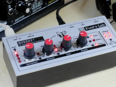 Meet Buzzy! the affordable 16-voice polysynth which needs your help on Kickstarter