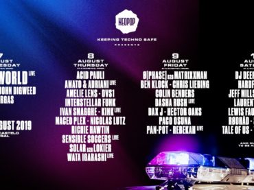 Neopop Festival announce next wave of artists for 2019 edition including Dax J, Dasha Rush, Matrixxman and more