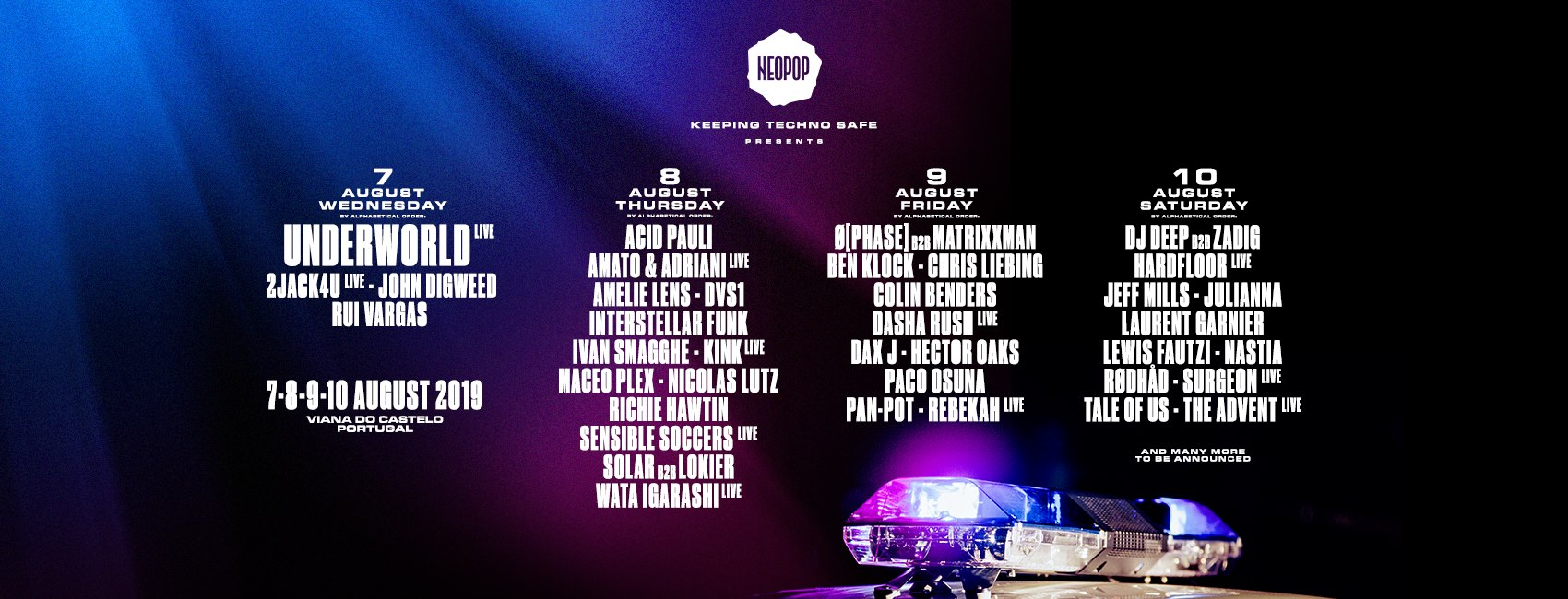 Neopop Festival announce next wave of artists for 2019 edition