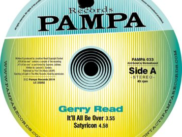 DJ Koze Remixes Gerry Read on Pampa Records