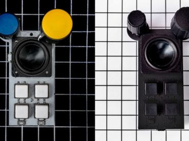Meet Bitty the little but loud drum machine with a growing sound library