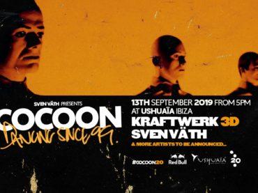 Cocoon unveil Kraftwerk 3D multimedia performance at Ushuaia Ibiza
