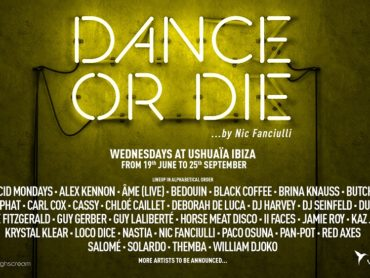 Ushuaïa Ibiza and Nic Fanciulli announce first wave of artists for Dance Or Die residency