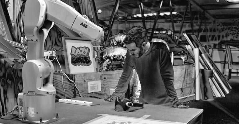 Massive Attack's Robert Del Naja involved in Barbican AI installation