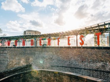 Camden's new festival themed rooftop experience with open air cinema, DJs, live football, and botanical canopy is open for Summer