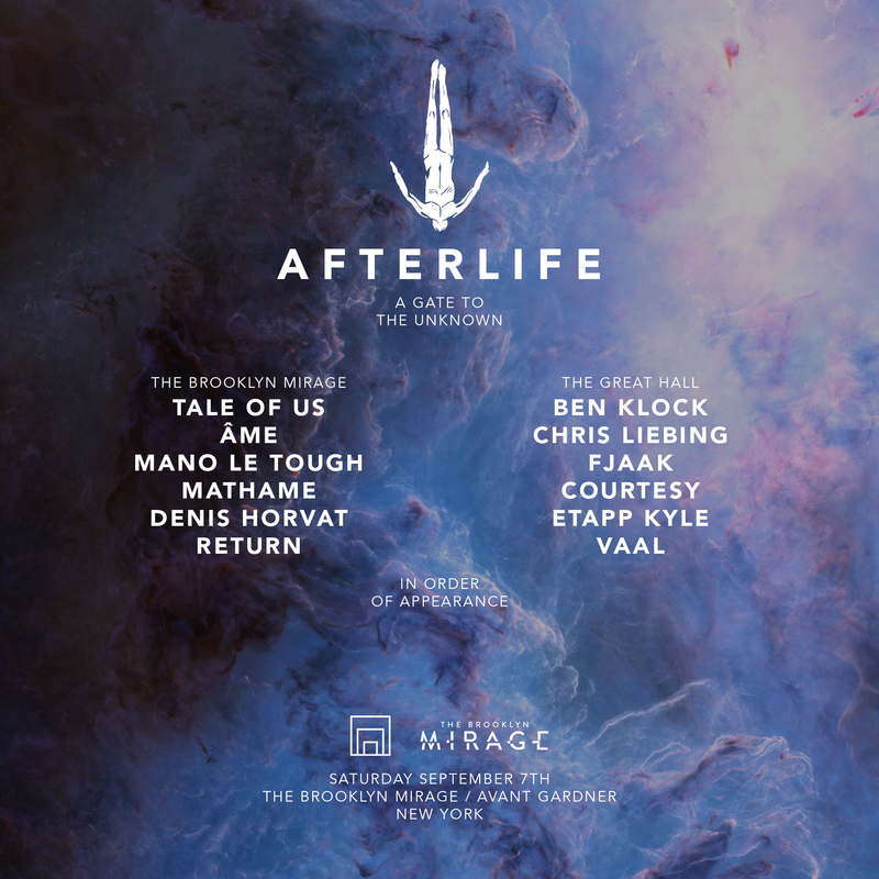 Tale Of Us present an immersive audio/visual 'Afterlife' experience at The Brooklyn Mirage - Decoded Magazine