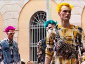 Donatella Versace dedicates Milan show in memory of Prodigy front man, Keith Flint