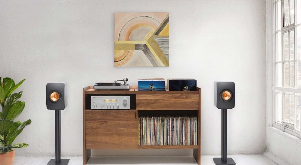 The Unison Record Stand - an all-in-one solution for vinyl record