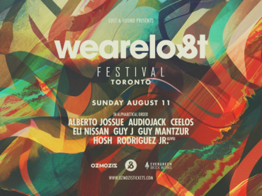 Guy J, Lost & Found Records, and Ozmosis now reveal the lineup for We Are Lost in Toronto
