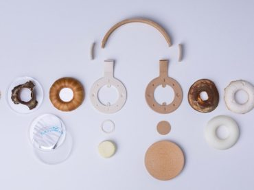 Finnish studio Aivan grows headphones from fungus and yeast in collaboration with scientists