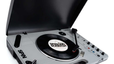 Reloop has announced the ultimate portable turntable called Spin