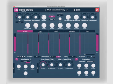 Intuitive Audio's Echo Studio plugin is every delay fan's dream