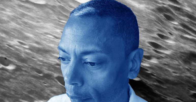 To celebrate the moon landings Axis Records release, 'The Area of Influence', an album by Jeff Mills on his interpretations of earth's moon and its effects on us and the planet