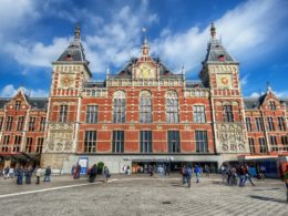 Go raving in Amsterdam's Central Station during ADE