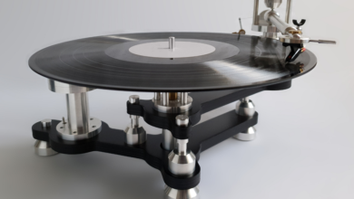 Meet the turntable that's equal parts automotive, and audiophile