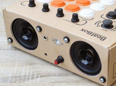 BeatBox, the cardboard drum machine