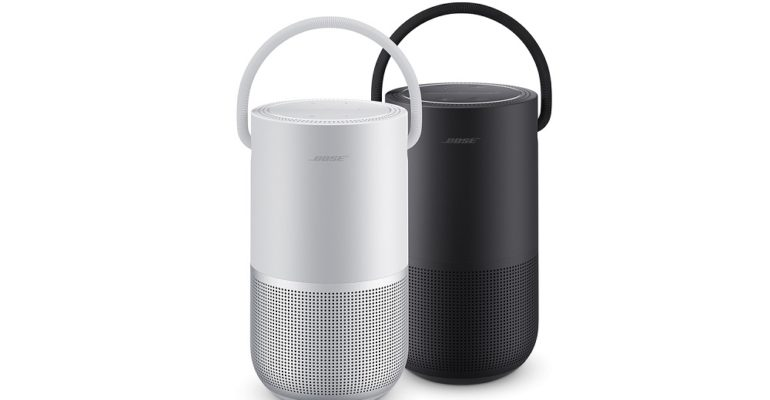Enjoy 360 degree sound with the Bose Portable Home Speaker