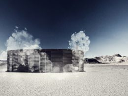 Architects to heat up Burning Man revellers with Finnish style sauna