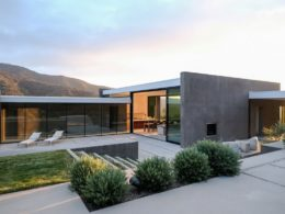 This Wild Lilac Residence is an absolutely stunning contemporary home located in the heart of nature