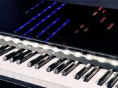 """Retrofit your 88-key keyboard with ForteRight's """"Guitar Hero-like"""" learning device"""