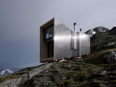 Check out this zero impact temporary alpine hut