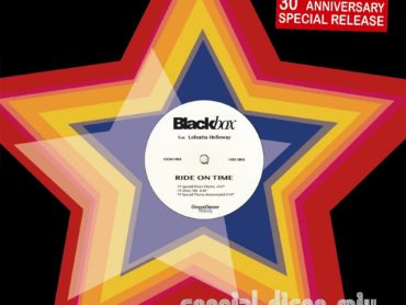 Blackbox celebrate their 30 year anniversary of 'Ride On Time' being at number one with special release