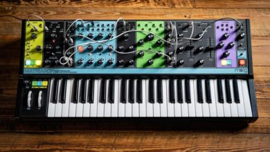 Moog has confirmed the release of its Matriarch, a new 4-voice paraphonic semi-modular synthesizer