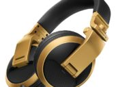 Pioneer release gold-coloured HDJ-X5BT-N headphones