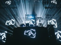 Photos from Aphex Twin's first club show in 10 years at Red Bull Music Festival