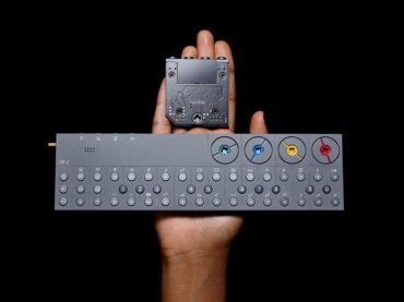 Teenage Engineering has debuted Rumble, the second hardware expansion module for the brand's OP-Z sequencer