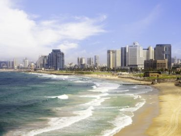 Chaim compiles his city guide for Tel Aviv