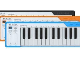 Arturia announce MicroLab, the small-scale MIDI keyboard