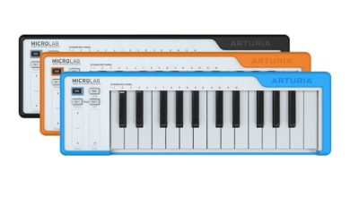 Arturia announce MicroLab, the small-scale MIDI keyboard with smart design features that you can take anywhere
